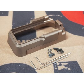 SCG CNC Aluminum M4 MAGWELL (Tan)