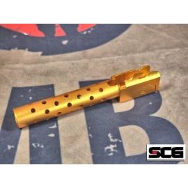 SCG Aluminum Barrel for TM/WE G17 GBB Series (Type-C)