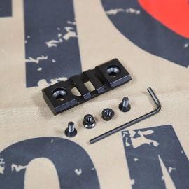 SCG-V KeyMod 2 Inch Picatinny Rail Section