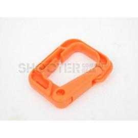SCG square Carabiner (Orange-3pcs)