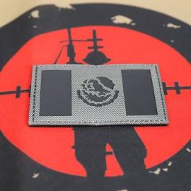 "SCG Laser cut PATCH ""Mexican Flag- WG"""