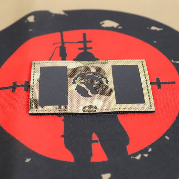 "SCG Laser cut PATCH  ""Mexican Flag- MC"""