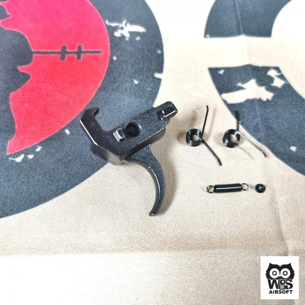 W&S Single Hook Steel Trigger Set For GHK AK GBB