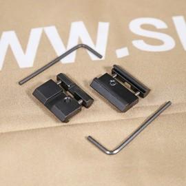 SCG-V 11mm DOVETAIL TO 21mm WEAVER Rail Base Mount Adaptor (2PCS)