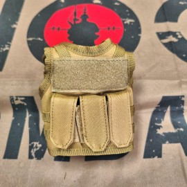 SCG Mini Vest (Khaki)