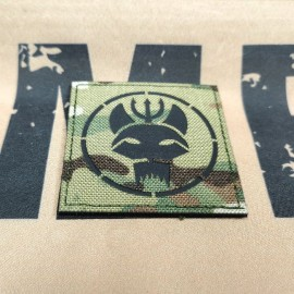 SCG Laser cut Patch SEALS TEAM -Square MC-BK