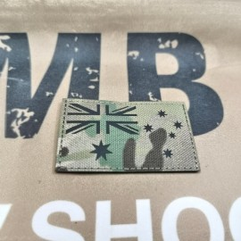 "SCG Laser cut Patch ""Australian Flag-MC"""