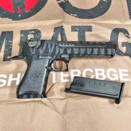 Cybergun WE Desert Eagle .50AE GBB Pistol W/ Marking (Tiger Stripe-Black)