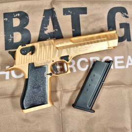 Cybergun WE Desert Eagle .50AE GBB Pistol W/ Marking (Tiger Stripe-Gold)