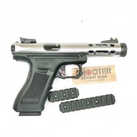 WE Galaxy G Series GBB Pistol (Silver)