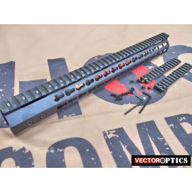 VECTOR OPTICS Slim KeyMod Free Float 15'' Handguard Rail for WE M4 GBB / PTW