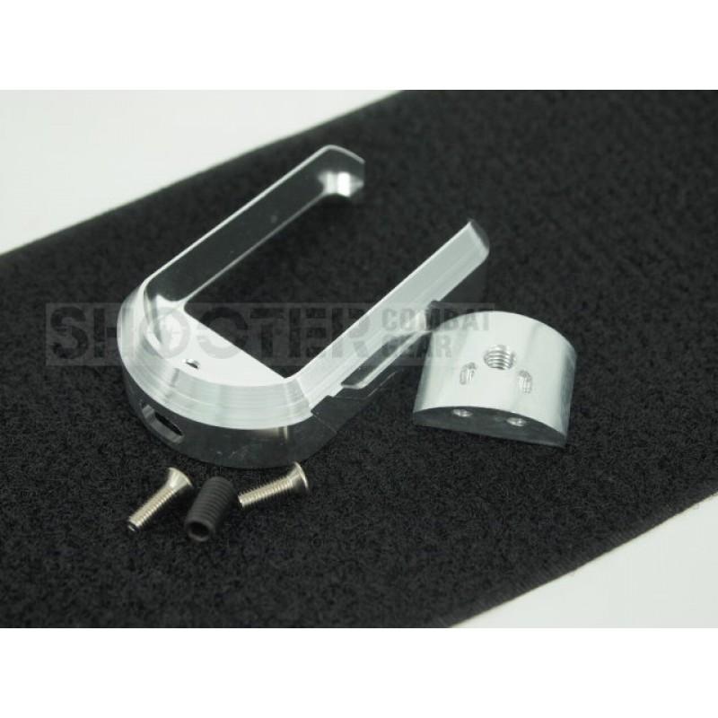 G18C Airsoft GBB Titanio 5KU Magwell de Metal para Tokyo Marui G17