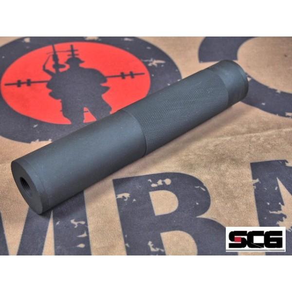SCG 36.5mm X 190mm Airsoft Silencer (+/-14mm)