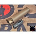 AIRSOFT ARTISAN SF STYLE 5.56 MUZZLE BRAKE + 4 PRONG FLASH HIDER (DE)