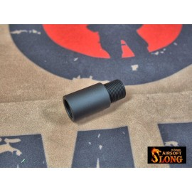 Barrel Adapter Extension CW to CCW 14mm for Airsoft AEG GBB TYPE B to 14mm