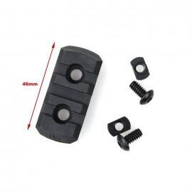 TMC M-LOCK Nylon 3 Picatinny Rail Sections ( 4pcs -Black )