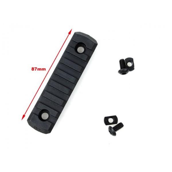 TMC M-LOCK Nylon 7 Picatinny Rail Sections ( 4pcs-Black )