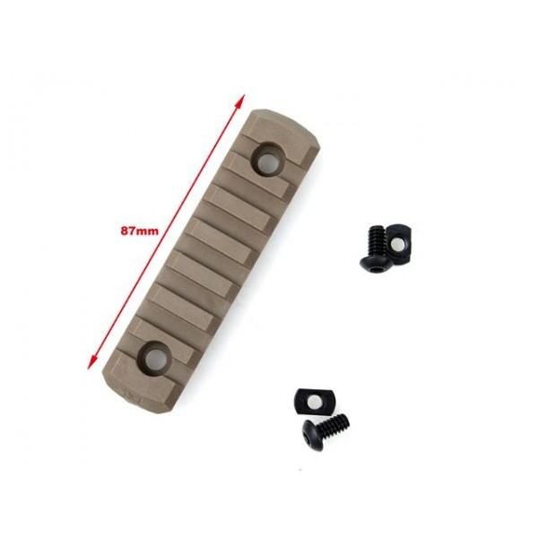 TMC M-LOCK Nylon 7 Picatinny Rail Sections (4pcs- CB )