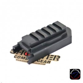 AIRSOFT ARTISAN SCAR M1913 STOCK ADAPTER FOR WE GBB & AEG VERSION (BK)
