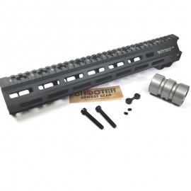 5KU 13 Inch MK.8 Rail for AEG / GBBR- Black( 5KU-299-BK )