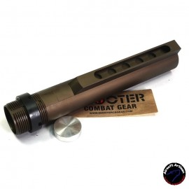 AIRSOFT ARTISAN M4 6 Position Buffer Tube For WE, VFC, WA M4 GBB (Mil Spec) DE