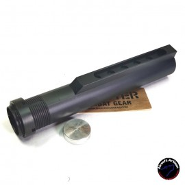 AIRSOFT ARTISAN M4 6 Position Buffer Tube For WE, VFC, WA M4 GBB (Mil Spec) BK