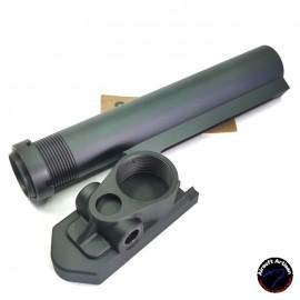 AIRSOFT ARTISAN SCAR Stock Adapter For WE & AEG Version (BK)