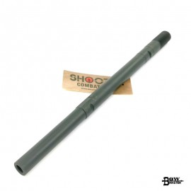 BOW MASTER Steel CNC Outer Barrel For GHK AK105 GBB