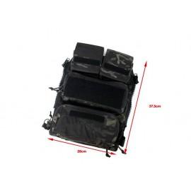 TMC Pouch Zip Panel NG version ( Multicam Black)