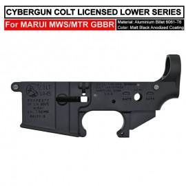 ANGRY GUN CYBERGUN COLT LICENSED CNC MK12 LOWER Receiver - FOR TM MWS/MTR