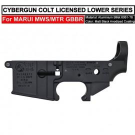 ANGRY GUN CYBERGUN COLT LICENSED CNC MK18MOD0 LOWER Receiver - FOR TM MWS/MTR