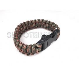 SCG SPEC Bracelet with whistle ( Marpat)
