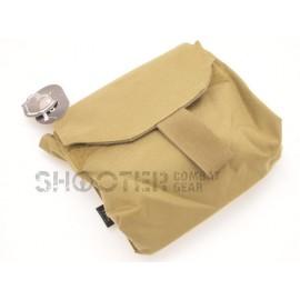 TMC Molle Gas mask pouch ( kHAKI )
