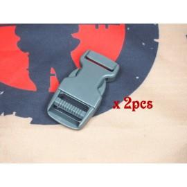 SCG 2.5cm buckle (FG-2pcs)