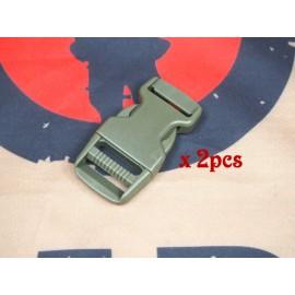 SCG 2.5cm buckle (OD-2pcs)