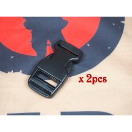 SCG 2.5cm buckle (BK-2pcs)