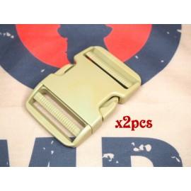 SCG 5cm buckle (Tan-2pcs)