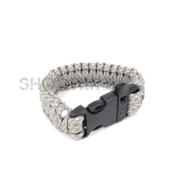 SCG SPEC Bracelet with whistle (ACU)