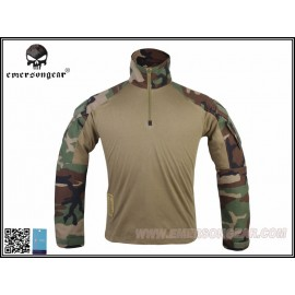 EMERSON G3 Combat Shirt (Woodland) (FREE SHIPPING)