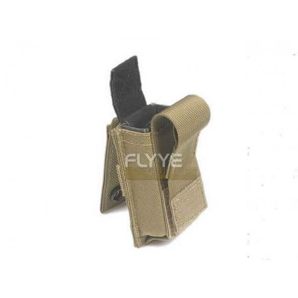 FLYYE Single 9mm Pistol Magazine Pouch Ver.HP (KHAKI)