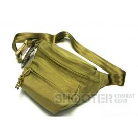 TMC Cordura low pitched waist pack (Khaki)