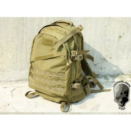 TMC MOLLE Style A3 Day Pack ( Khaki )