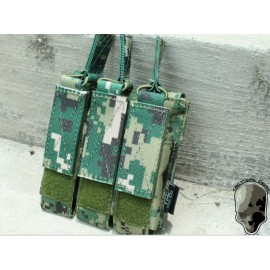 TMC MOLLE Tri Open Top Mag Pouch for MP7 ( AOR2)
