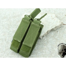 TMC MOLLE Double Open Top Mag Pouch for MP7 ( OD )