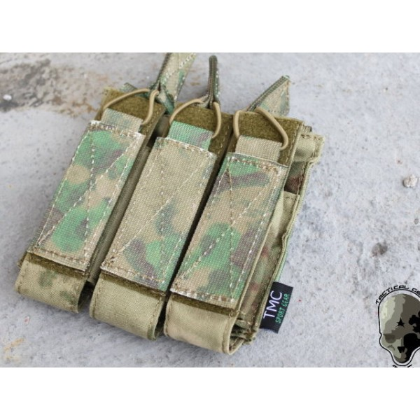 TMC MOLLE Tri Open Top Mag Pouch for MP7 ( ATFG)