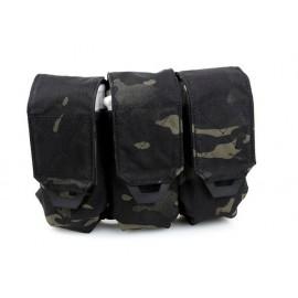 TMC QUOP TRI M4 Mag Pouch ( Multicam Black )