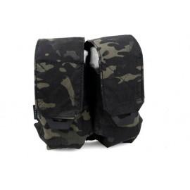 TMC QUOP Double M4 Mag Pouch ( Multicam Black )