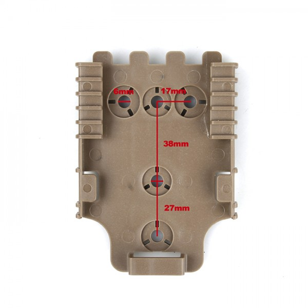 SCG 0305 QL22 QL system receiver plate ( DE )