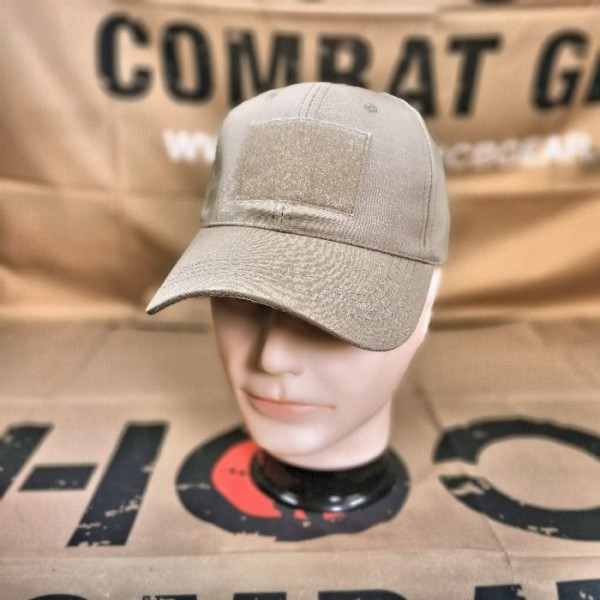 SCG Hook and Loop Baseball Cap ( KHAKI )