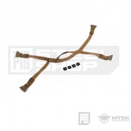 PTS MTEK FLUX Retention System- Coyote